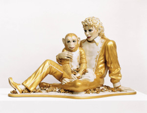 Jeff Koons Michael Jackson and Bubbles, 1988